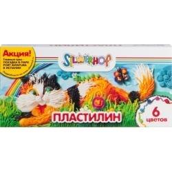 Пластилин 06 цв. 120 г ЮБИЛЕЙНАЯ КОЛЛЕКЦИЯ