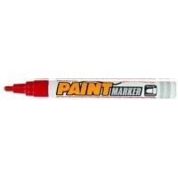 Маркер -краска для письма по рарзным поверхностям цвет красный