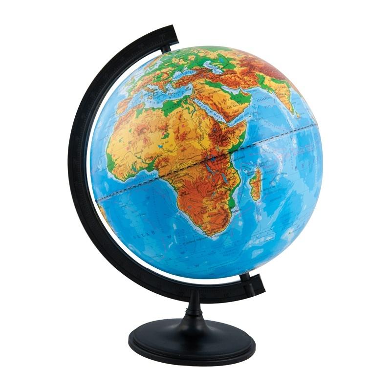 Глобус физический. d 320мм с подсветкой Глобусный мир