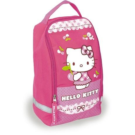 Мешок для сменной обуви Hello Kitti (33х20х14 см) розовый