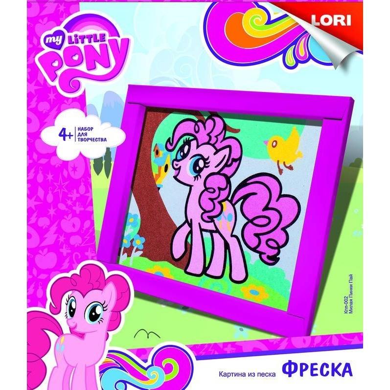 Фреска. Картина из песка Hasbro My Little Pony Милая Пинки Пай